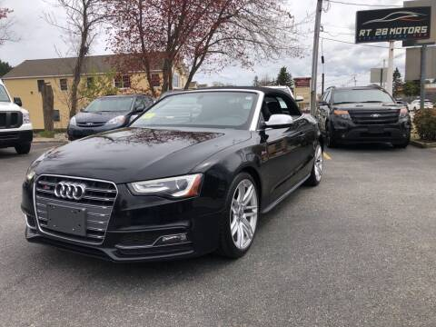 2015 Audi S5 for sale at RT28 Motors in North Reading MA