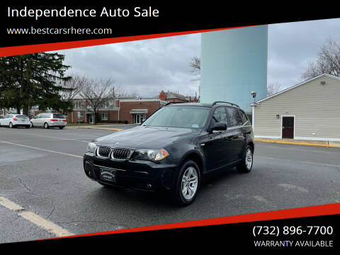 2006 BMW X3 for sale at Independence Auto Sale in Bordentown NJ