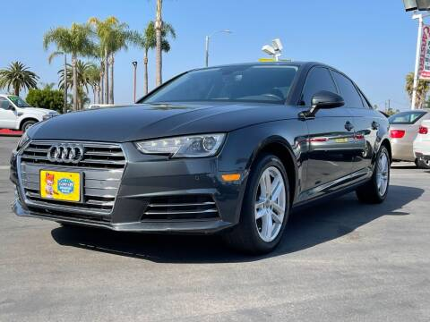 2017 Audi A4 for sale at CARSTER in Huntington Beach CA