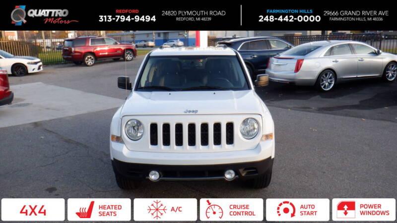 2017 Jeep Patriot for sale at Quattro Motors 2 in Farmington Hills MI