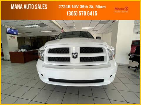 2012 RAM Ram Pickup 1500 for sale at MANA AUTO SALES in Miami FL