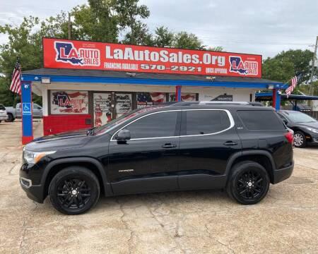 2018 GMC Acadia for sale at LA Auto Sales in Monroe LA