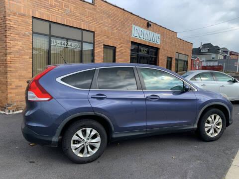2013 Honda CR-V for sale at Dominic Sales LTD in Syracuse NY