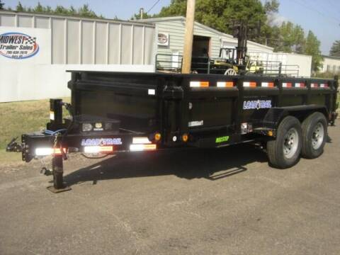 2022 83 X 14 LOAD TRAIL DUMP for sale at Midwest Trailer Sales & Service in Agra KS
