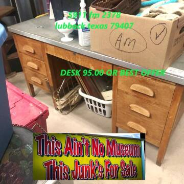 DESK WOOD for sale at BENHAM AUTO INC - Peace of Mind Treasures and More Store in Lubbock TX