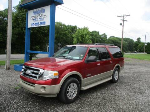 2008 Ford Expedition EL for sale at PENDLETON PIKE AUTO SALES in Ingalls IN