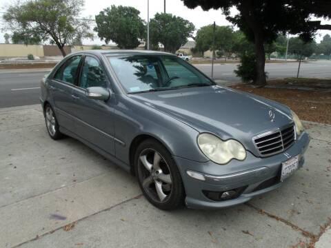 2005 Mercedes-Benz C-Class for sale at Hollywood Auto Brokers in Los Angeles CA
