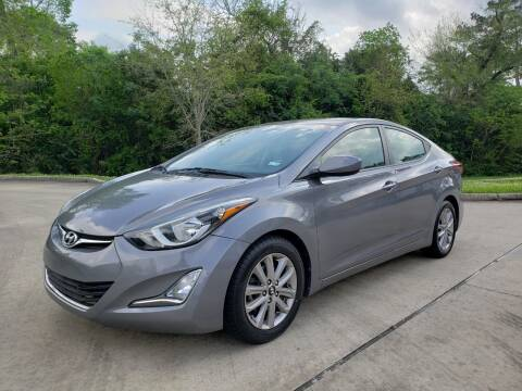 2014 Hyundai Elantra for sale at Houston Auto Preowned in Houston TX