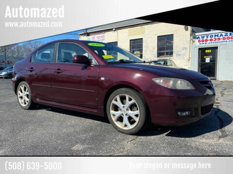 2007 Mazda MAZDA3 for sale at Automazed in Attleboro MA