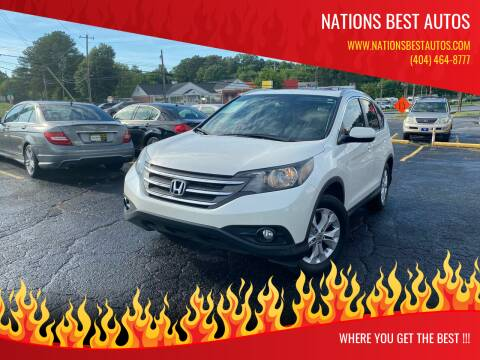2013 Honda CR-V for sale at Nations Best Autos in Decatur GA