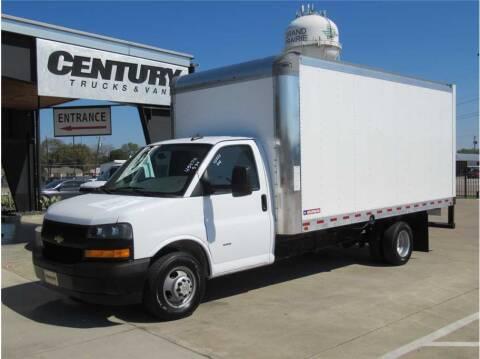 2021 Chevrolet Express Cutaway for sale at CENTURY TRUCKS & VANS in Grand Prairie TX