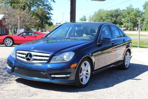 2013 Mercedes-Benz C-Class for sale at Rallye Import Automotive Inc. in Midland MI