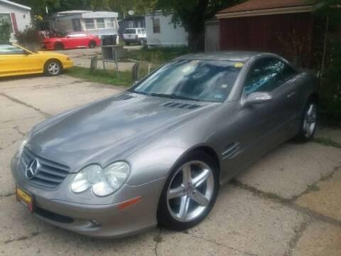 2004 Mercedes-Benz 500-Class for sale at Classic Car Deals in Cadillac MI