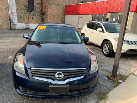 2008 Nissan Altima for sale at Alpha Motors in Chicago IL