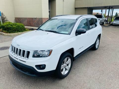 2016 Jeep Compass for sale at Big Three Auto Sales Inc. in Detroit MI