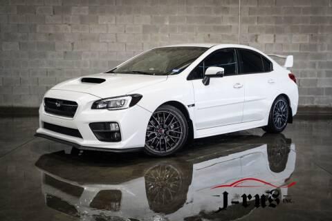 2016 Subaru WRX for sale at J-Rus Inc. in Macomb MI