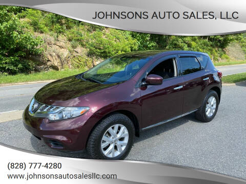 2014 Nissan Murano for sale at Johnsons Auto Sales, LLC in Marshall NC