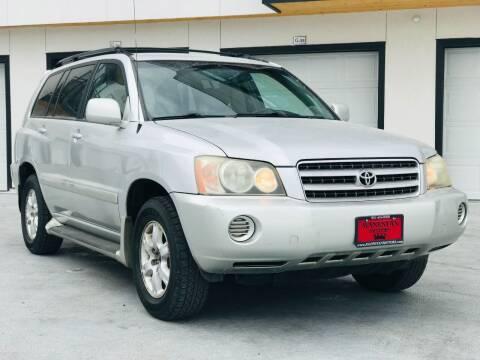 2002 Toyota Highlander for sale at Avanesyan Motors in Orem UT