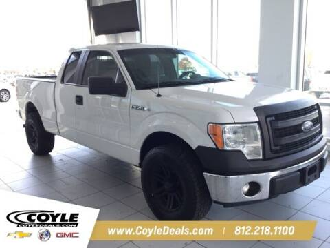 2014 Ford F-150 for sale at COYLE GM - COYLE NISSAN in Clarksville IN