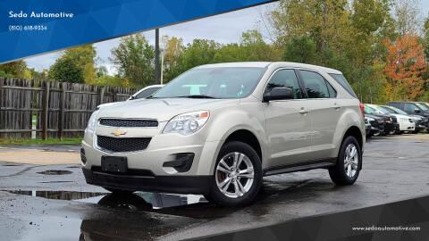 2015 Chevrolet Equinox for sale at Sedo Automotive in Davison MI