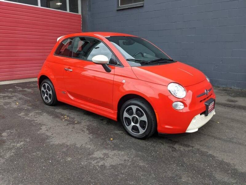 2018 FIAT 500e for sale at Paramount Motors NW in Seattle WA