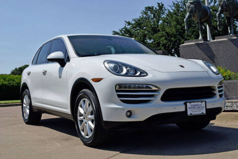 2012 Porsche Cayenne for sale at European Motor Cars LTD in Fort Worth TX