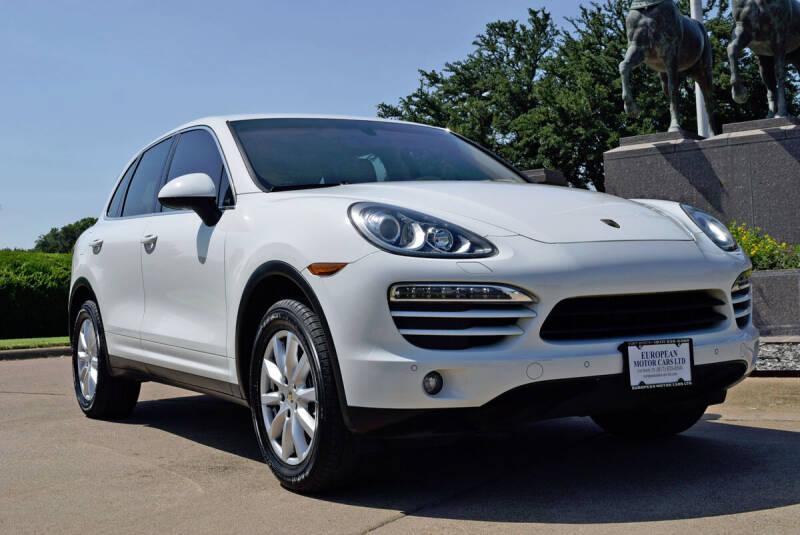 2012 Porsche Cayenne for sale at European Motor Cars LTD in Fort Worth TX