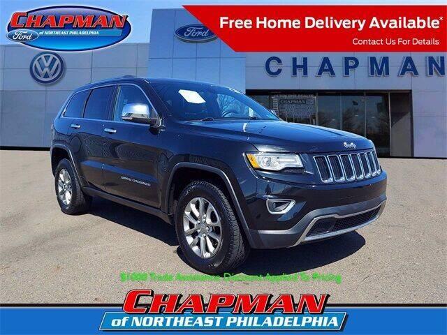 2015 Jeep Grand Cherokee for sale at CHAPMAN FORD NORTHEAST PHILADELPHIA in Philadelphia PA