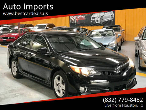 2014 Toyota Camry for sale at Auto Imports in Houston TX
