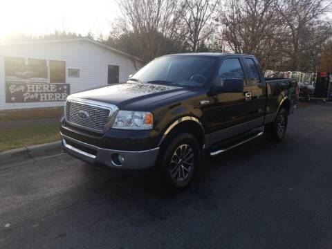 2006 Ford F-150 for sale at TR MOTORS in Gastonia NC