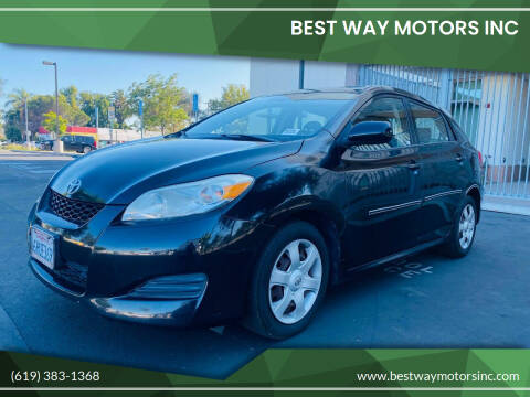2009 Toyota Matrix for sale at BEST WAY MOTORS INC in San Diego CA