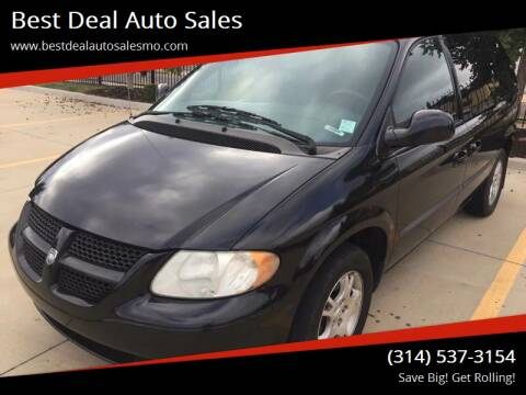 2004 Dodge Caravan for sale at Best Deal Auto Sales in Saint Charles MO