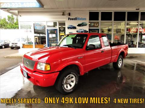 2003 Ford Ranger for sale at Powell Motors Inc in Portland OR