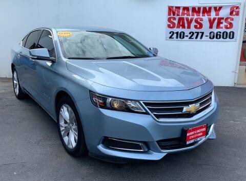 2015 Chevrolet Impala for sale at Manny G Motors in San Antonio TX