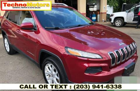 2016 Jeep Cherokee for sale at Techno Motors in Danbury CT