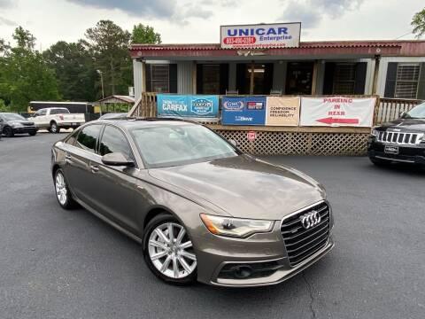 2013 Audi A6 for sale at Unicar Enterprise in Lexington SC