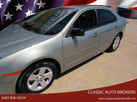 2008 Ford Fusion for sale at Classic Auto Brokers in Haltom City TX