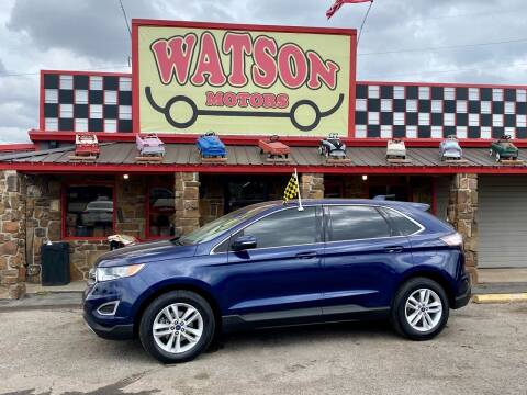 2016 Ford Edge for sale at Watson Motors in Poteau OK
