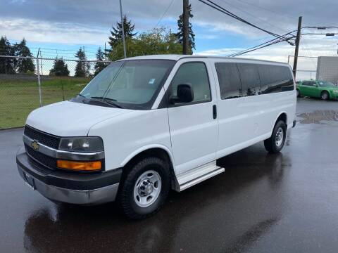 2013 Chevrolet Express Passenger for sale at Vista Auto Sales in Lakewood WA
