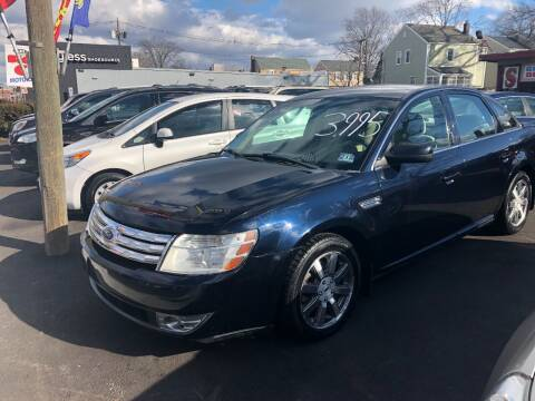 2008 Ford Taurus for sale at BIG C MOTORS in Linden NJ