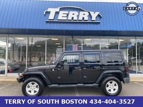 2014 Jeep Wrangler Unlimited for sale at Terry of South Boston in South Boston VA