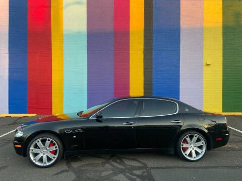2007 Maserati Quattroporte for sale at JOSE MESA AUTO WHOLESALE , LLC in Portland OR
