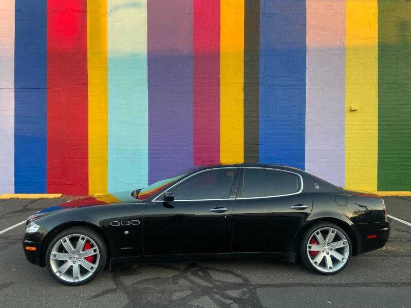 2007 Maserati Quattroporte for sale at JOSE MESA AUTO WHOLESALE , LLC in Portland OR