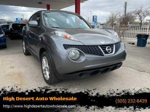 2011 Nissan JUKE for sale at High Desert Auto Wholesale in Albuquerque NM