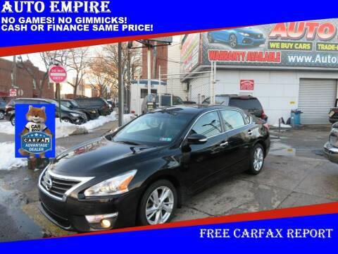2015 Nissan Altima for sale at Auto Empire in Brooklyn NY