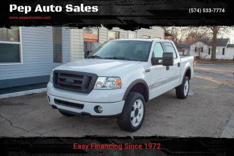 2006 Ford F-150 for sale at Pep Auto Sales in Goshen IN