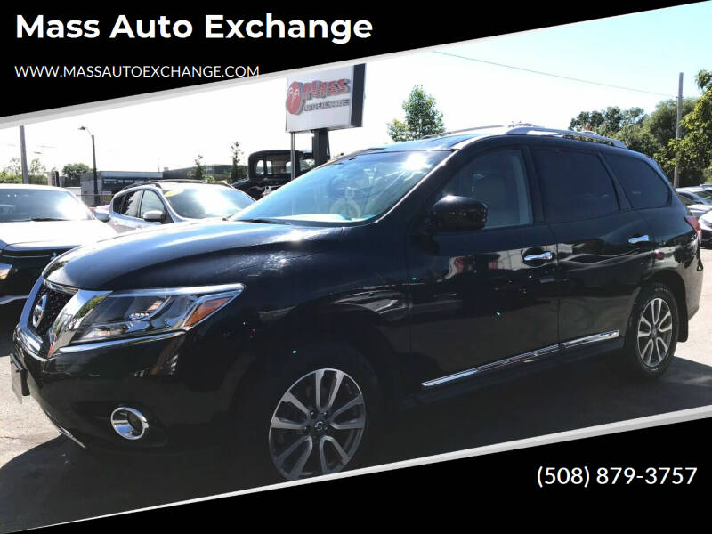 2014 Nissan Pathfinder for sale at Mass Auto Exchange in Framingham MA