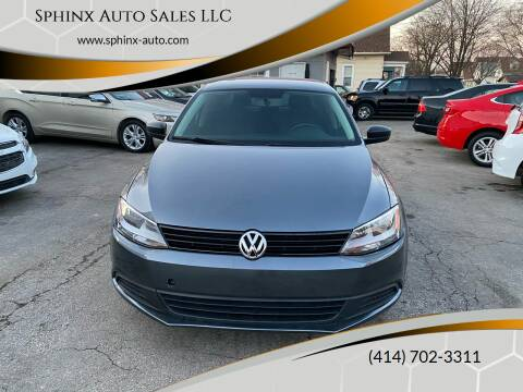 2011 Volkswagen Jetta for sale at Sphinx Auto Sales LLC in Milwaukee WI