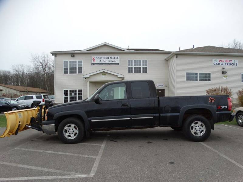 2003 Chevrolet Silverado 1500 for sale at SOUTHERN SELECT AUTO SALES in Medina OH