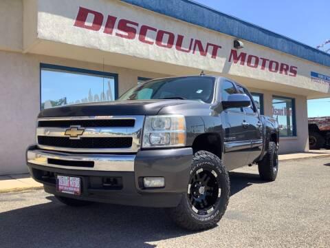 2011 Chevrolet Silverado 1500 for sale at Discount Motors in Pueblo CO